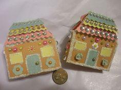 gingerbread matchboxes