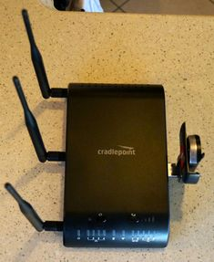 cradlepoint router in GoPetFriendly.com Motorhome