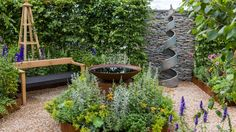 RHS Hampton Court Flower Show 2016 - Practicality Brown Hampton Court Flower Show, Rhs Hampton Court, Hedging Plants, Inside Garden, Sensory Garden, Lavender Garden, Summer Garden, Small Gardens, Native Plants