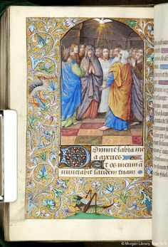 Book of Hours, M.62 fol. 96v - Images from Medieval and Renaissance Manuscripts - The Morgan Library & Museum