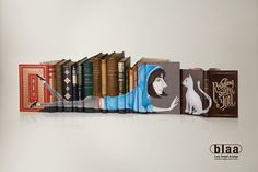 Ads for libraries - Reading shapes you - ad 2