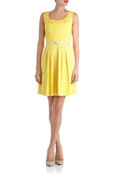 how i love pretty yellow dresses