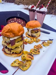 In celebration of Valentine's Day, we are sharing some savory recipes that are perfect for a delicious night in. Turn up the heat and get grilling with this recipe for Merlot Burgers from this year's Fire & Ice Women's Championship Barbeque Series winner, Jayna Todisco! Marinated in red wine, this award winning recipe includes bacon, …