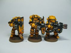 By our will, these walls will never fall! Heresy Imperial Fists - Page 4