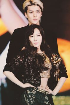 Taeyeon and Sehun