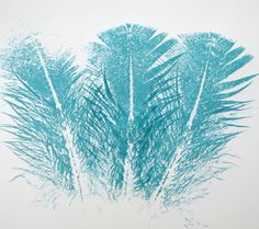 Print with a Feather to Produce Fantastic Images - Quick and Cheap!: Multiple Feather Prints