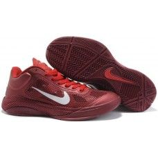 Nike zoom hyperfuse xdr low mens red white-logo shoes 55f392b1f