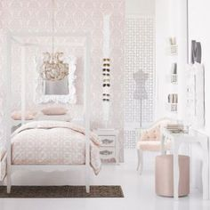 Luscious bedroom dressing room walk-in wardrobe decor.jpg