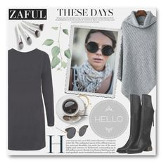 Fall - Zaful by t-871 on Polyvore featuring polyvore, fashion, style and clothing