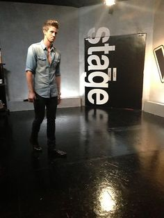 Josiah Hawley before taking the stage. #VoiceUnlimited