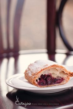 "Sour cherry strudel from ""Monarchia Rétesház"" by csokiparany, via Flickr"