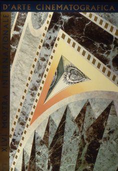 Manifesto Festival del Cinema di Venezia 1989