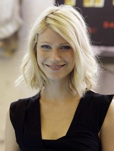 tousled bob || Gwyneth Paltrow: More