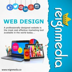 Reign Media specializes in expanding your business' growth through four central courses of action:  1)- Responsive Web Design 2)- Social Media Management 3)- Search Engine Marketing 4)- Search Engine Optimization  Reach us through our website,   www.reignmedia.co to see how Reign Media can best suit your needs.
