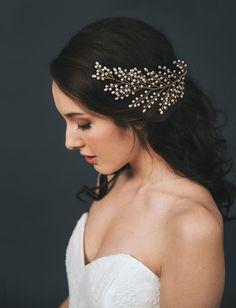 Davie & Chiyo bridal headpiece