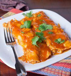 Pork Enchiladas | Dinners, Dishes, and Desserts