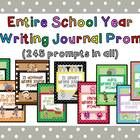 Writing journal prompt for the entire year