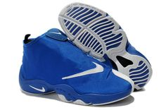 Nike Air Zoom Flight The Glove Blue White #Nike #Air #Zoom #Flight #Shoes