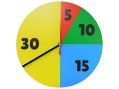 Zegar ścienny edukacyjny - Edukacja Plan Daltoński