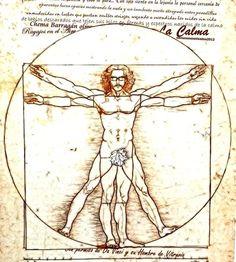 Con permiso de Da Vinci y su Hombre de Vitruvio