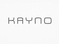 Kayno Free Font #freefonts #fontsfordesignes #newfonts #freefonts2014