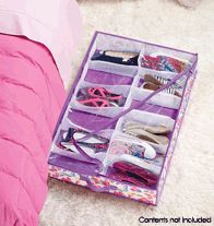 Under the Bed Organizer- Folds flat for easy storage when not in use. Ages 6 and up.  Regularly $14.99, buy Avon Kids online at http://eseagren.avonrepresentative.com