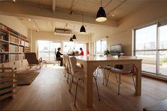 株式会社渡辺潤平社 | オフィスデザイン、店舗デザイン事例 みんなの仕事場