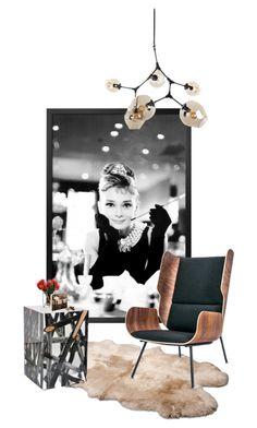 """audrey"" by katrisha-art ❤ liked on Polyvore featuring interior, interiors, interior design, home, home decor, interior decorating, UGG Australia, Bleu Nature, Gus* Modern and LSA International"