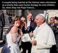 A humble and loving servant of God. Thank you Pope Francis, for being that example for everyone of us.