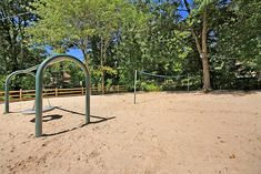 Playground in Sunset Lake, a peaceful nook in the Martinsville section of Bridgewater where its residents feel like they're on vacation at home! #SunsetLake #MartinsvilleNJ #BridgewaterNJ #Lakeliving  LISA BERCHOFF, Weichert Realtor & Home Staging Professional  (908) 334-9399  Lisa@LisaBerchoff.com Sunset Lake, Home Staging, Nook, Playground, The Neighbourhood, Sailing, Home And Family, Lisa, Outdoor Structures