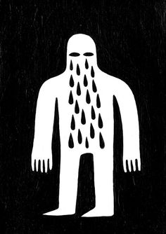 Crying Man By Jack Teagle