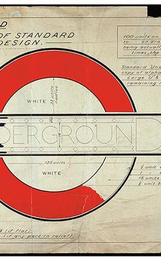 Design historian David Lawrence offers a perspective on the London Underground Roundel  #graphicdesign #illustration #print