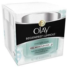 Olay Regenerist LuminousOvernight Face Mask Gel Moisturizer at Walgreens. Get free shipping at $35 and view promotions and reviews for Olay Regenerist LuminousOvernight Face Mask Gel Moisturizer