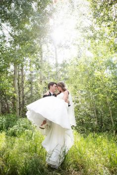 Mountain-inspired decor goes romantic in Colorado real wedding - Slideshows and Picture Stories - TODAY.com