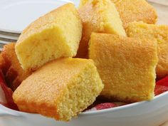 Grandma's Sweet Buttermilk Cornbread by WickedGoodKitchen.com ~ Scrumptious and irresistibly moist sweet buttermilk cornbread recipe made with Wicked Good Kitchen's all-natural Homemade Cornbread Mix which includes a gluten free option. Perfect for the fall and winter holidays or summertime picnics and cookouts! #easy #cornbread #glutenfree #recipe