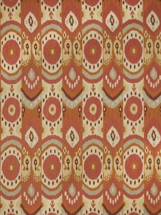 Maruja in color Citrus from Fabricut's Color Studio IV - Tangerine color series. #upholstery #fabrics