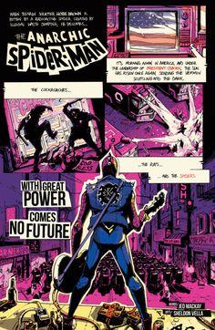 """Hobart """"Hobie"""" Brown aka Spider-Punk in Spider-Verse #2"""