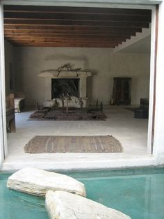 Philip Dixon's Moroccan Inspired Home in Venice Beach, CA. Stepping stones in water between spaces. Awesome.