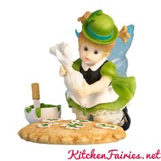 Shamrock Cookie Fairie - From Series Thirty Eight of the My Little Kitchen Fairies collection