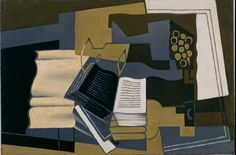 """""""Carafe and Book"""" by Juan Gris - Museo Reina Sofia, Madrid, Spain"""