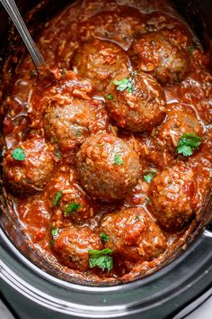 low Cooker Italian Sausage Meatballs – A dreamy and hearty, comfort-style slow cooker for this fall/winter season! S low Cooker Italian Sausage Meatballs – Ein [. Crock Pot Recipes, Slow Cooker Recipes, Cooking Recipes, Crockpot Ideas, Fast Recipes, Sauce Recipes, Keto Recipes, Italian Sausage Meatballs, Crock Pot Meatballs