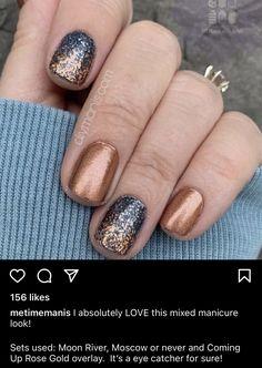 Get Nails, How To Do Nails, Hair And Nails, Nail Color Combos, Nail Colors, Fabulous Nails, Gorgeous Nails, Stylish Nails, Trendy Nails