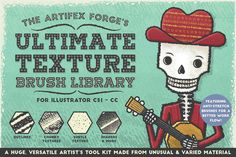 The Ultimate Texture Brush Library - Brushes