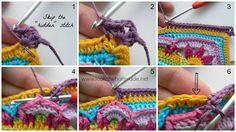 Tutorial #70: Alfombra Jardín Floral a Crochet ~ CTejidas [Crochet y Dos Agujas]