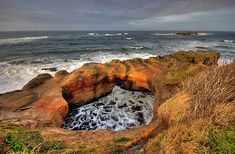 need to go ... devils punch bowl oregon 5.5 miles south of depoe bay