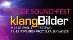 Auch in diesem Jahr stellen die klangBilder16 das Highlight der HiFi-Szene im Herbst dar. An drei Tagen, vom 11. bis 13. November 2016 bildet das Arcotel Kaiserwasser den Rahmen für das Sound-Fest.