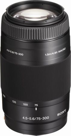 Sony 75-300mm f/4.5-5.6 Compact Super Telephoto Zoom Lens for Sony Alpha Digital SLR Camera - http://allgoodies.net/sony-75-300mm-f4-5-5-6-compact-super-telephoto-zoom-lens-for-sony-alpha-digital-slr-camera/