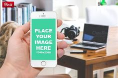 9 iPhone6 Mockup-Changeable Background psd  http://textycafe.com/23-iphone-6-mockup-psd-templates/