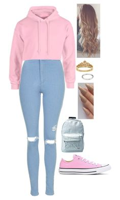 """""""The girl with strings//g.d"""" by lifeasgege on Polyvore featuring Topshop, Converse, Spiral, Eternally Haute and Forever 21"""