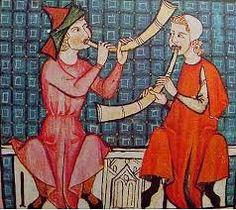 Resultado de imagen de diez instrumentos musicales medievales
